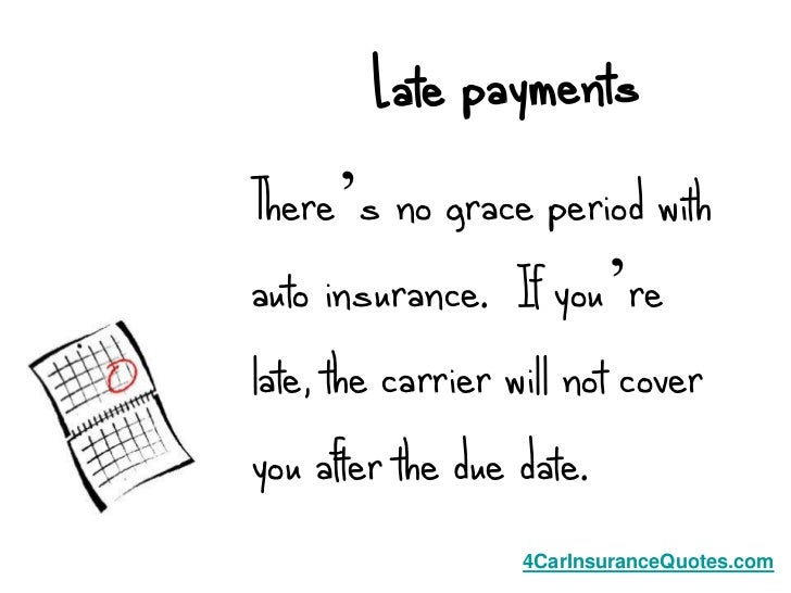 Is There A Grace Period For Car Insurance