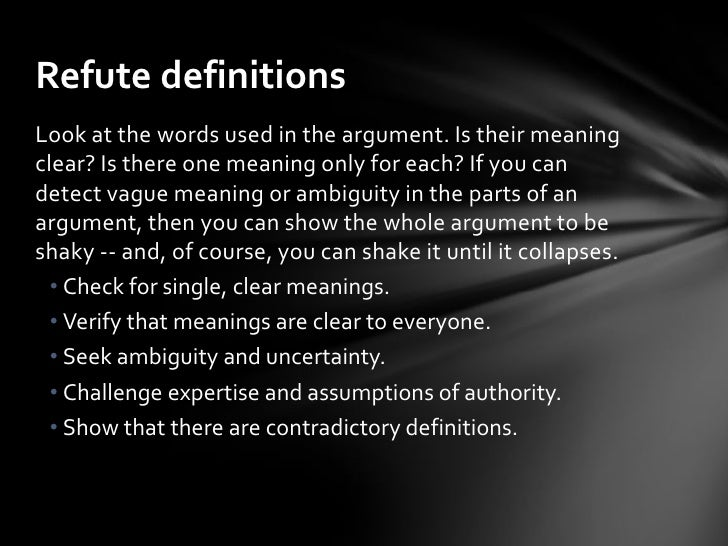 Counter Argument Example We Will See Now In Further Detail Together