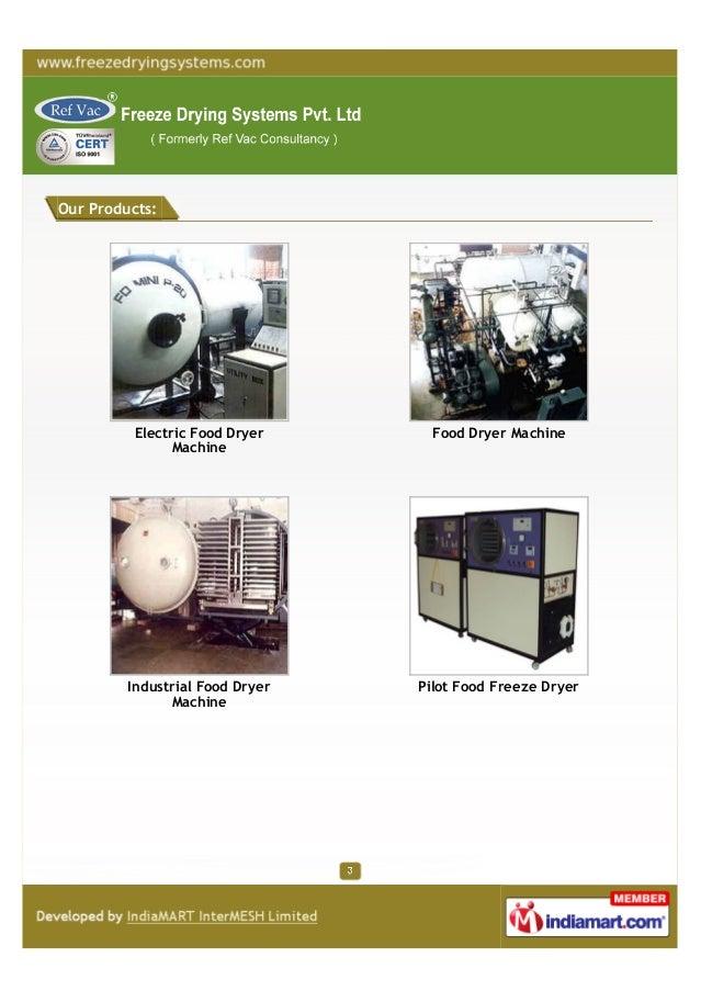 Ref Vac Consultancy, Vadodara,Freeze drying machines Slide 3