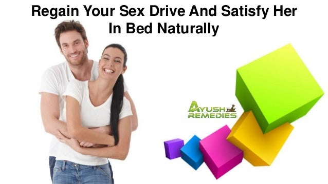 How to regain male sex drive