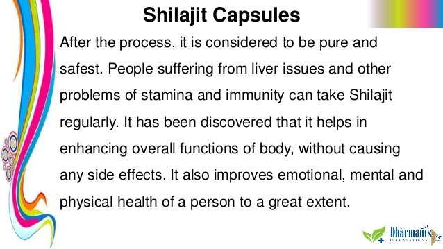 Shilajit Capsules After the process, it is considered to be pure and safest. People suffering from liver issues and other ...
