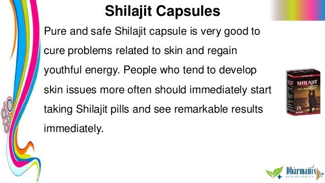 Shilajit Capsules Pure and safe Shilajit capsule is very good to cure problems related to skin and regain youthful energy....