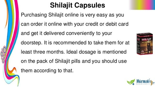 Shilajit Capsules Purchasing Shilajit online is very easy as you can order it online with your credit or debit card and ge...