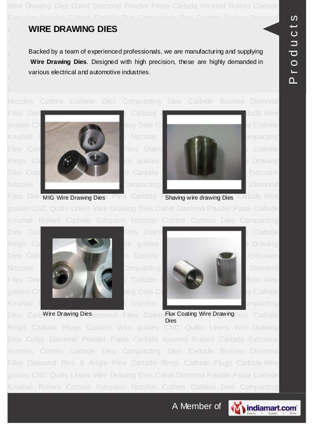 A Member ofWire Drawing Dies Collet Diamond Powder Paste Carbide Knurled Rollers CarbideExtrusion Nozzles Cutters Carbide ...