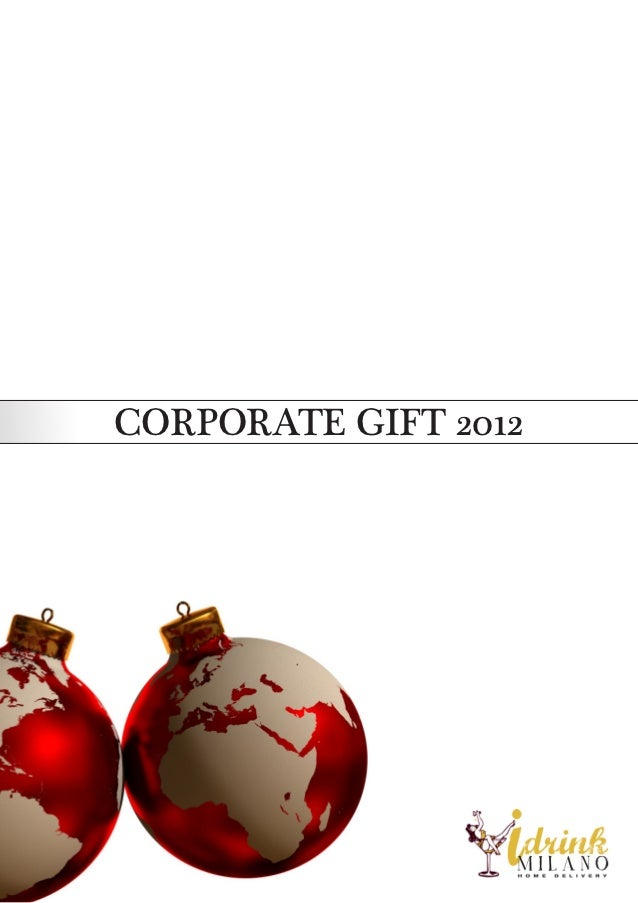 CORPORATE GIFT 2012