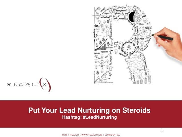 © 2014 REGALIX | WWW.REGALIX.COM | CONFIDENTIAL • Option 0.2 Put Your Lead Nurturing on Steroids Hashtag: #LeadNurturing 1