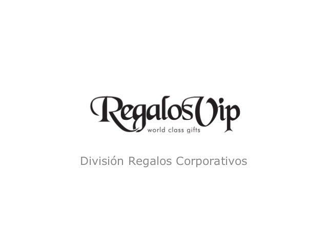 División Regalos Corporativos