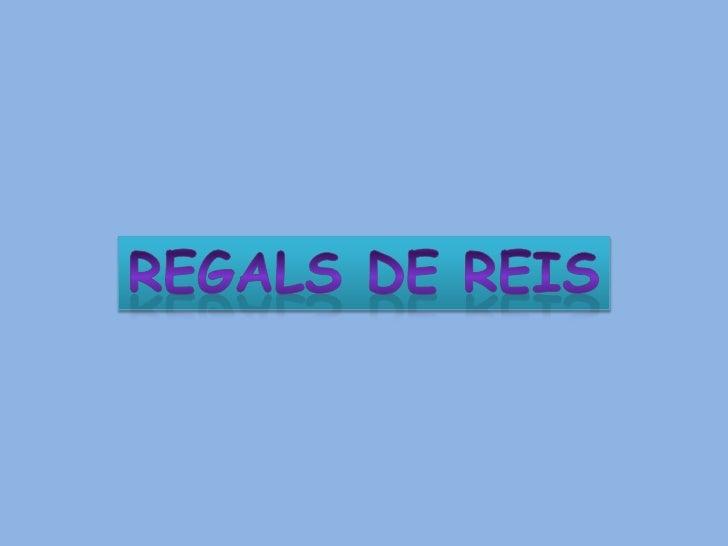 REGALS DE REIS<br />