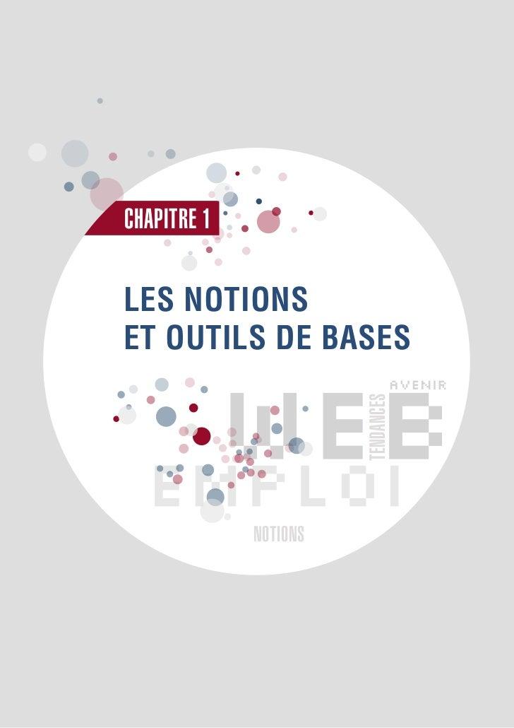 CHAPITRE 1LES NOTIONSET OUTILS DE BASES                       TENDANCES             NOTIONS