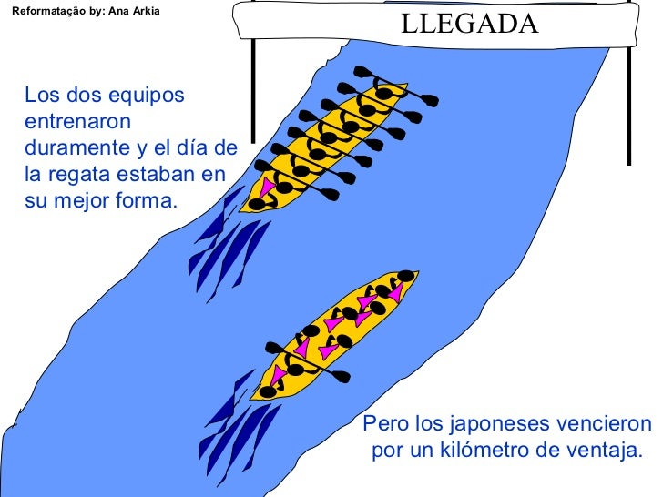 Regata de canoas Slide 3