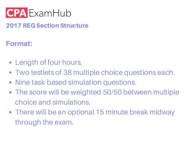 Reg Exam Format