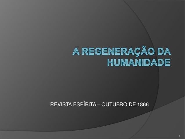 REVISTA ESPÍRITA – OUTUBRO DE 1866 1