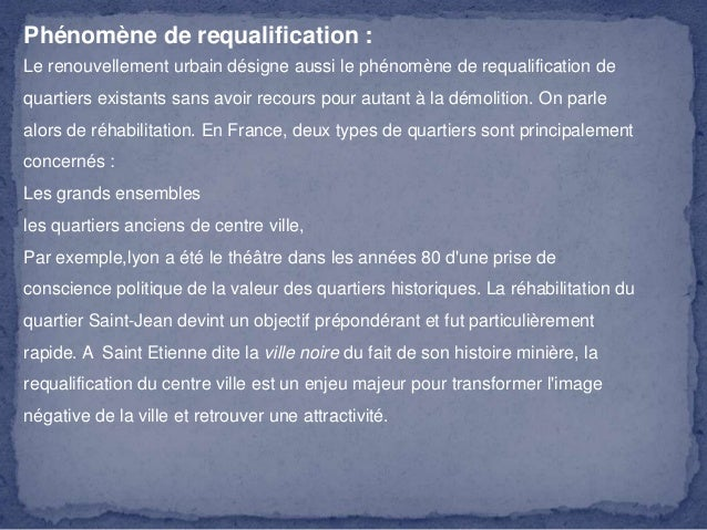 Regeneration urbaine for Architecture urbaine definition