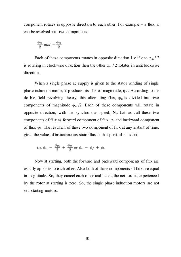 Thesis on induction motor drives