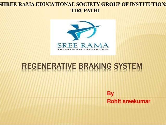 regenerative braking system project report pdf