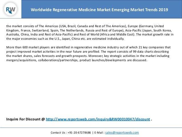 European Steel Manufacturers Sales And Distribution Companies Mail: International Regenerative Medicine Market Investment