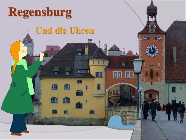 Regensburg Und die Uhren
