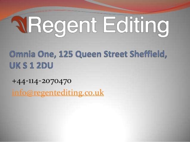 Dissertation editing uk