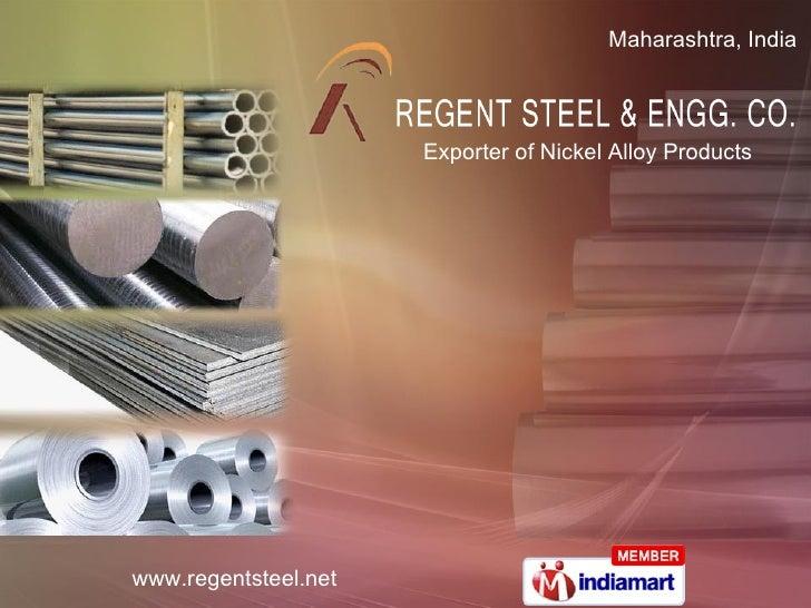 Exporter of Nickel Alloy Products Maharashtra, India
