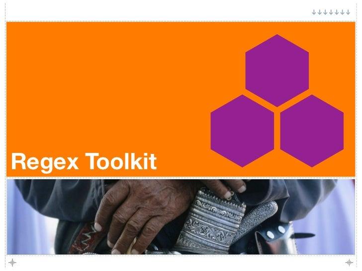Regex Toolkit