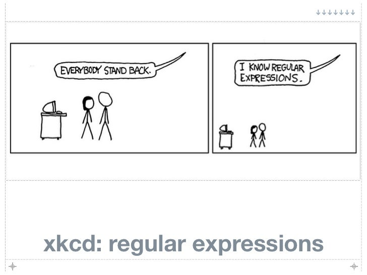 xkcd: regular expressions