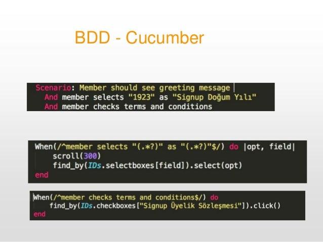 BDD - Cucumber