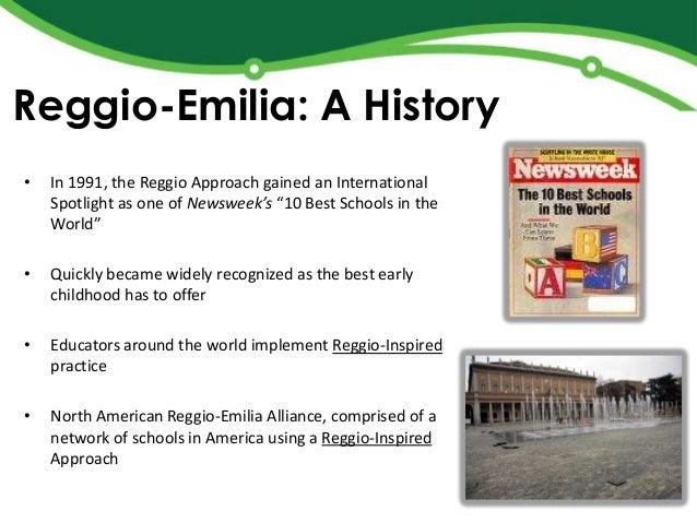 Brent introduction to reggio program