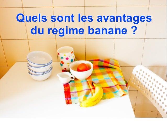 le regime banane fait il maigrir plus vite. Black Bedroom Furniture Sets. Home Design Ideas
