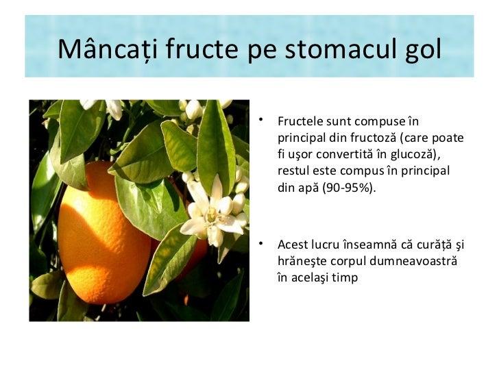 """""""Regime fruits"""" - Mâncaţi fructe pe stomacul gol Slide 3"""