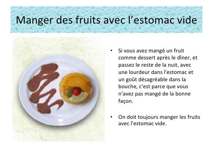 Manger des fruits oui mais l 39 estomac vide - Que mange les papillons de nuit ...