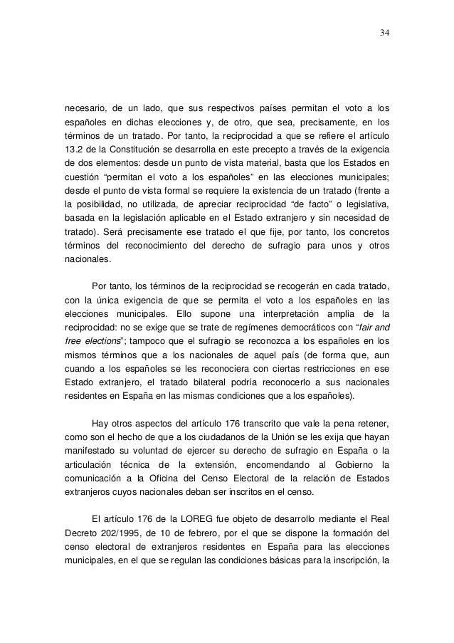 Propuestas de modificaci n del r gimen electoral general for Oficina del censo electoral