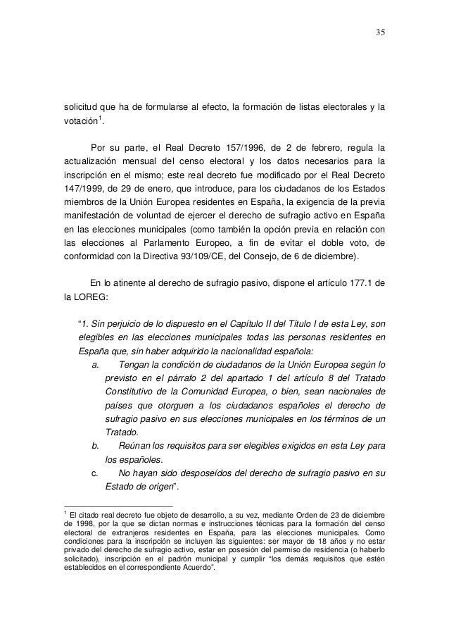 Propuestas de modificaci n del r gimen electoral general for Oficina del censo electoral madrid