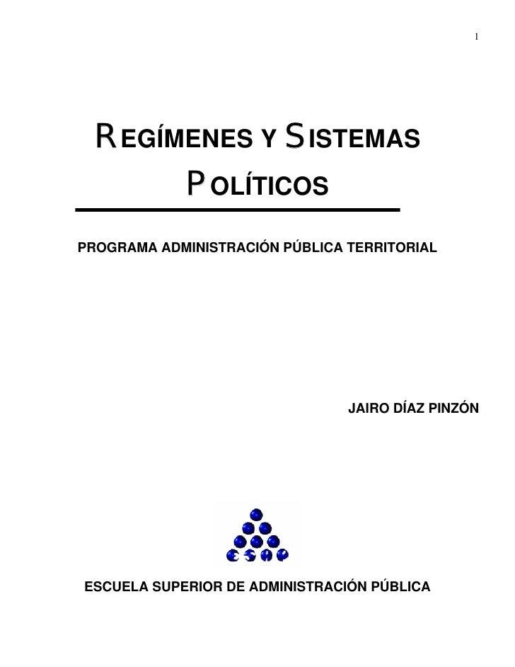 Regimenes y sistemas_politicos
