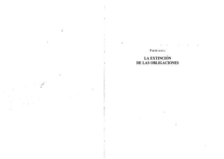 Regimen general de las obligaciones