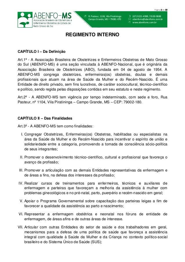  (67) 9221-4998 / 9100-9888  abenfoms@abenfoms.com.br  www.abenfoms.com.br  R. Pasteur, 1104, Vila Piratininga Campo G...