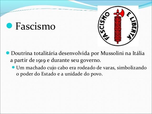 NazismoConhecido              na Alemanha como nacional- socialismo, é a ideologia praticada pelo Partido Nazista da Ale...