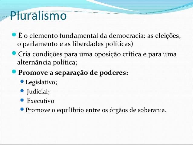 DemocraciaSistema de governo em que o poder de tomar  importantes decisões políticas está com os cidadãos  (povo), direta ...