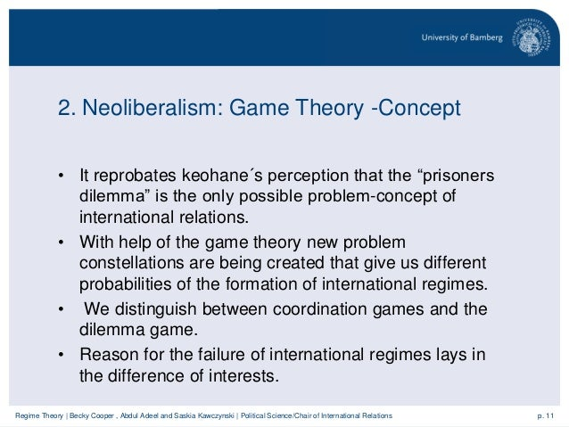 difference between liberalism and neoliberalism in international relations pdf