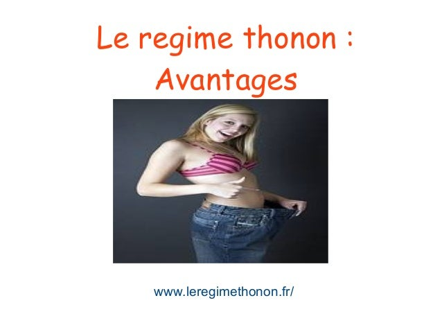 Le regime thonon : Avantages www.leregimethonon.fr/