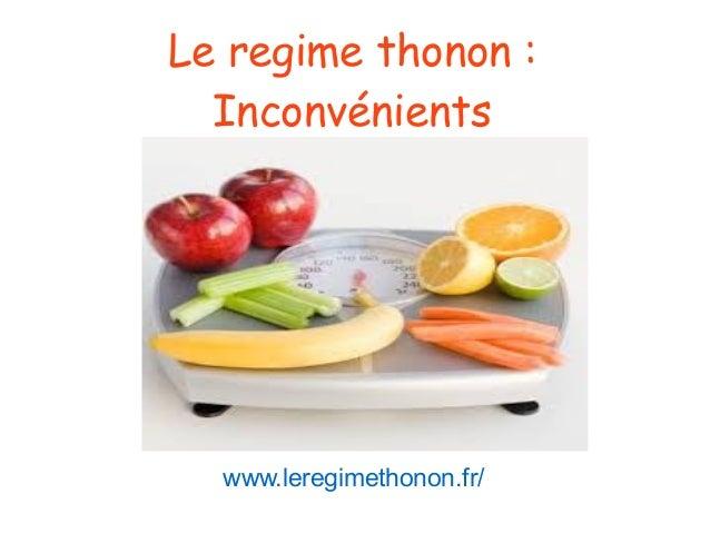 Le regime thonon: Inconvénients www.leregimethonon.fr/