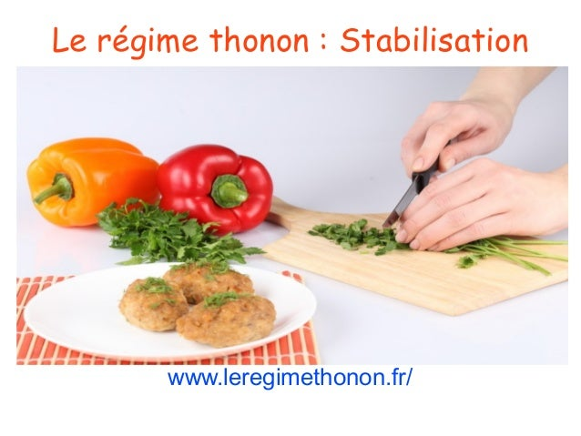 Le régime thonon: Stabilisation www.leregimethonon.fr/