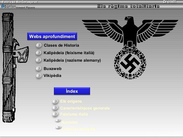 Armand Figuera         Webs aprofundiment                 Clases de Historia                 Kalipèdeia (feixisme italià) ...