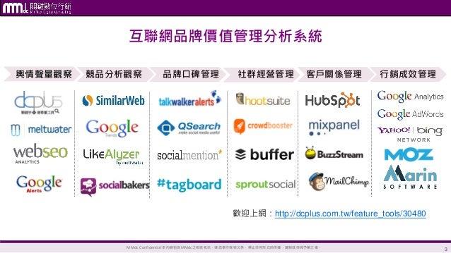 【MMdc 課程】用分析工具定位新媒體環境下的品牌運營策略 Slide 3