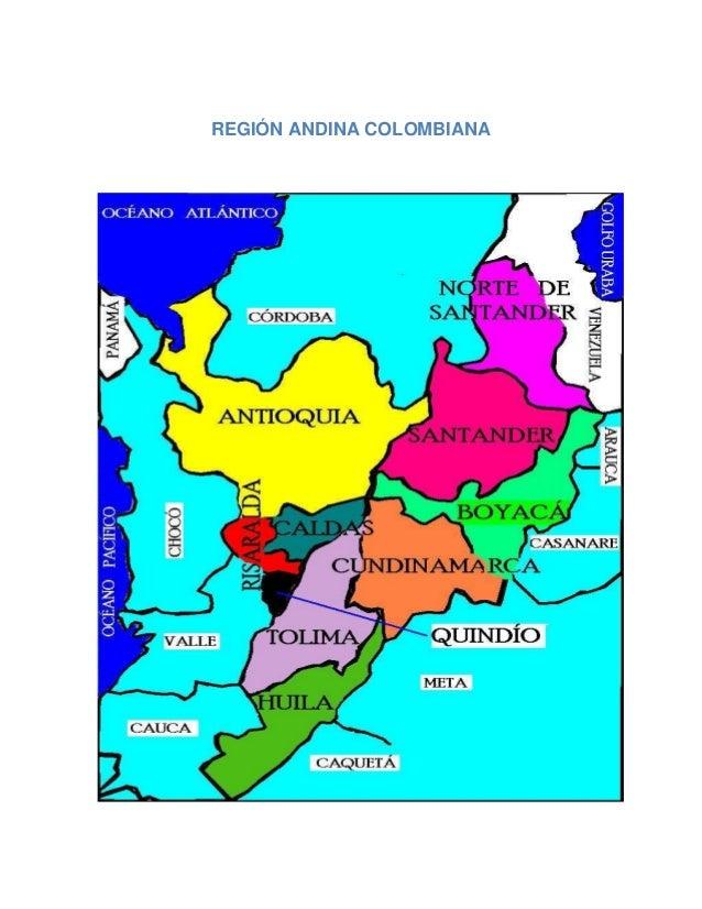 REGIÓN ANDINA COLOMBIANA