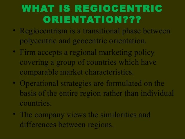 example of ethnocentric approach