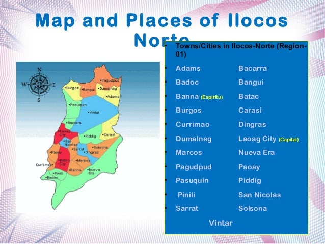 Region 1 of the Philippines (ilocos)