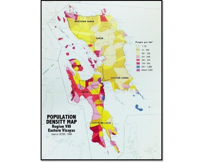Map Of Region 8 Philippines Region Viii In The Philippines