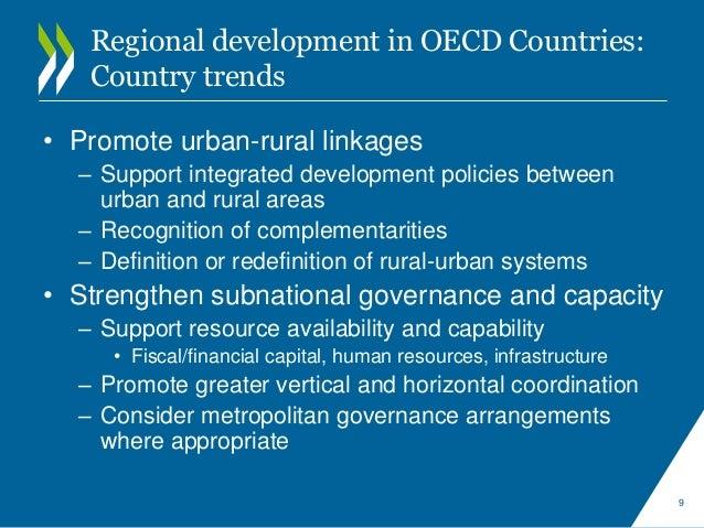 Regional Development Strategies in OECD Countries