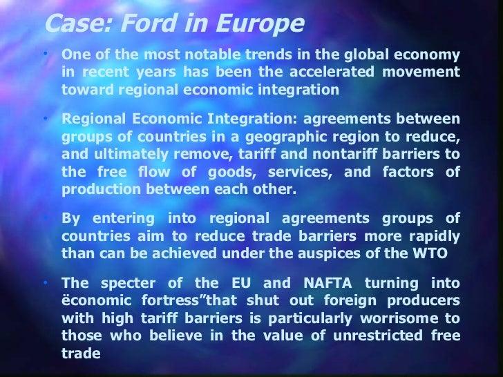 Regional Economic Integration Slide 2