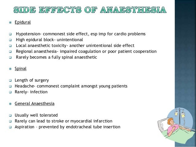Regional Vs General Anesthesia In Hip Surgery